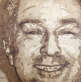 gazza portrait